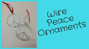 diy peace sign ornament tutorial seen at outfitters montreal