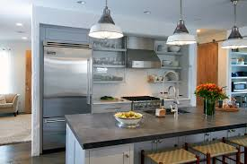 kitchen contemporary kitchen designs with pendant lamp and