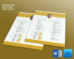 creative resume template download best images on design templates