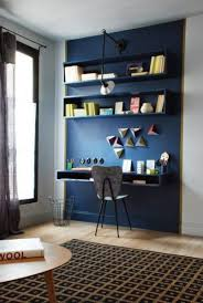 couleur peinture bureau bureau bleu delimiter un espace travail avec la couleur couleur