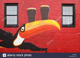 irish pub mural stock photos irish pub mural stock images alamy toucan mural on an irish pub in portland maine stock image