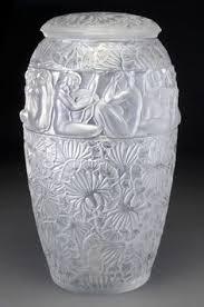 Engraved Glass Vases René Lalique U0027danaides U0027 A Vase Design 1926 Opalescent Glass