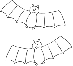 Free Printable Halloween Books by Halloween Bat Coloring Pages Getcoloringpages Com