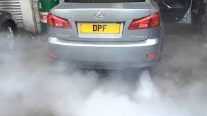 vsc light lexus is220d fault code p2002 rectified at www doncasterdpfcleaning co uk or