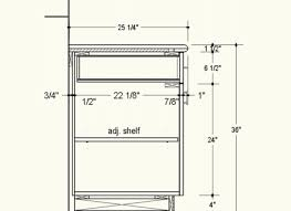 Standard Height For Cabinets What Is The Standard Height For Kitchen Cabinets On 1600x922
