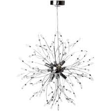 Sputnik Ceiling Light Linea Macey Glass Sputnik Pendant Ceiling Light Polyvore