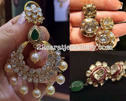 pachi earrings pachi chandbalis and earrings indian jewelry ear rings and