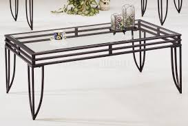 glass end table set furniture glass and metal coffee table sets house furniture ideas