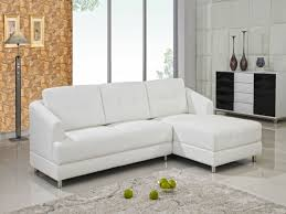 furnitures white leather sectional sofa luxury black and white