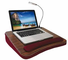 Cushion Laptop Desk by Laptop Desk With Light Net Book Tray With Light Bed Trays Beds