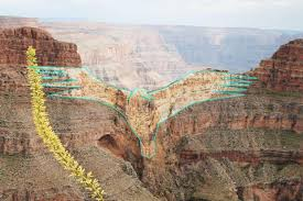 Grand Canyon National Park Map Grand Canyon West Home Of The Skywalk Kingman Tourism