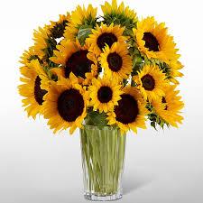 vera wang flowers the ftd golden sunflower bouquet by vera wang judy s flowers