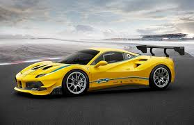 ferrari yellow car 2017 ferrari 488 challenge race car revealed
