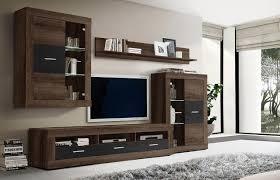 Ordnung Im Wohnzimmerschrank Wohnwand In Schwarz Günstig Bei Lifestyle4living