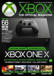xbox the official magazine uk issue 153 august 2017 by nina