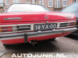 opel commodore opel commodore gs e foto u0027s autojunk nl 91549