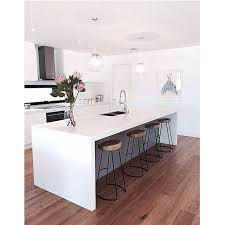 White Island Kitchen Kitchen Engaging Modern White Kitchen Island Reno Modern White
