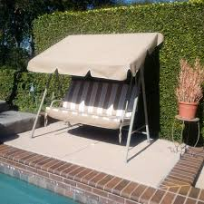 Replacement Fabric For Patio Swing Lowes 2 Person Patio Swing Cushion Replacement