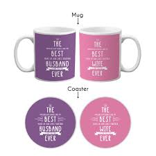 The Best Coffee Mugs The Best Pair Ever Coffee Mugs Set Of 2 With Coasters Giftsmate