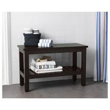 Hemnes Sofa Table Black Brown Hemnes Bench Black Brown Stain 83 Cm Ikea
