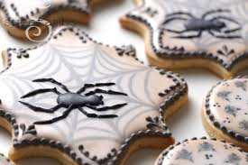 halloween spider cookies sweetambssweetambs