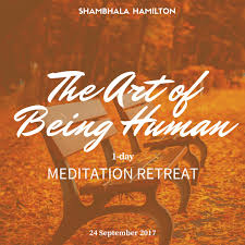 the art of being human 1 day meditation retreat with shastri