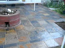 Exterior Tiles For Patios Slate Back Patio Installation Mov Youtube