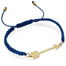 gold cord bracelet images Gold plated arrow cord bracelet mynamenecklace jpg