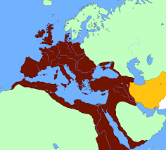 Colorado Mesa University Map by This Map Shows The Sassanian Empire Which Was One Of The Rival