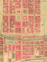 Chicago Ward Map 1910 by Pittsburgh The Dark Years
