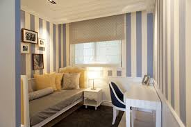 45 guest bedroom ideas small guest room decor ideas taiwan penthouse condo decor dressing room striped wallpaper