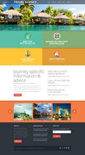 traveling websites images Website template 50997 travel agency compass custom website jpg