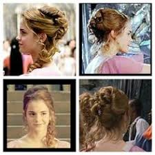 hermione yule ball hairstyle hermione granger yule ball hair google search homecoming prom
