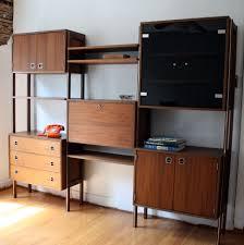mid century modern modular wall unit living room ideas