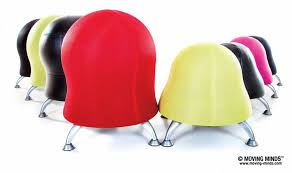 zenergy and runtz ball chairs moving minds