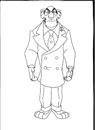 talespin coloring pages images