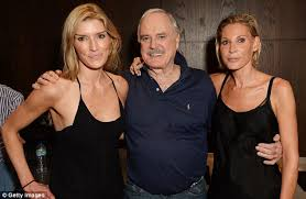 john cleese makes a shocking remark about ex wives and hails