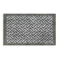 Black And White Zig Zag Rug Buy White Chevron Rug From Bed Bath U0026 Beyond
