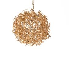 gold wire mesh ornament ornaments and