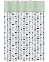Mint Shower Curtain Fall Is Here Get This Deal On Sweet Jojo Designs Grey And Mint