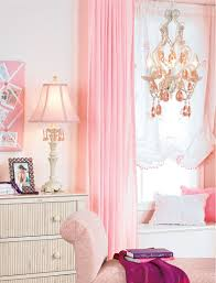 Beautiful Curtains by Bedroom Chic And Beautiful Pink Bedroom Curtains Girls Pink