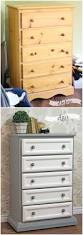 tall dresser makeover tutorial with trim and paint trim work