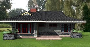 deluxe 3 bedroom bungalow house plan home design