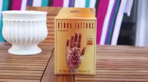 tutorial earth henna premium kit yellow with spanish subs