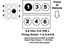 3 8 liter v6 chrysler firing order ricks free auto repair advice