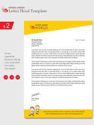letterhead design templates free sle exle format amazing