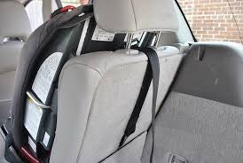 Seat by Most Parents Not Using Car Seat Tether Study Chicago Tribune