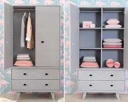 armoire vintage chambre une armoire rétro design momes