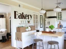 eat kitchen wall decor ideas islands and thick countertops wooden