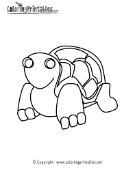 turtle coloring page a free ocean coloring printable